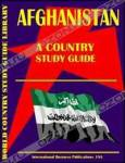 Afghanistan Country Study Guide (World Country Study Guide